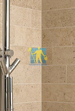 limestone tiles shower moleanos beige melbourne cleaning
