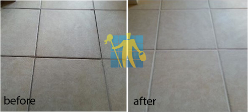 before and after grouting and regrouting